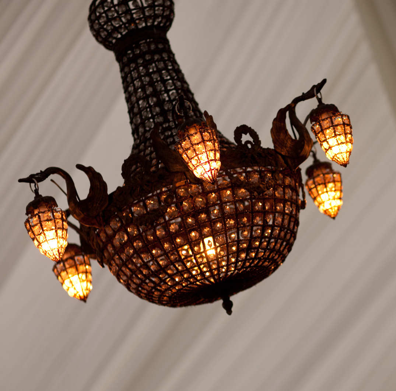 Moroccan chandelier mardigras event hire moroccan chandelier arubaitofo Choice Image